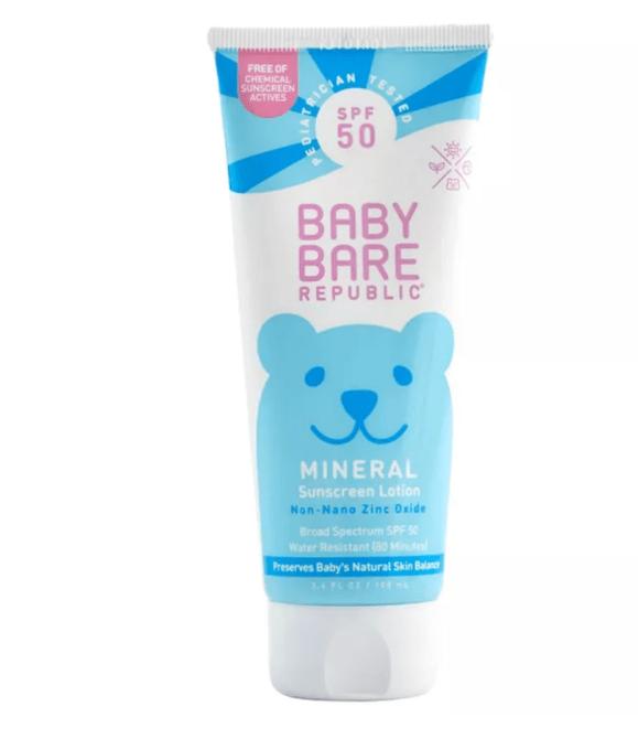 Bare Republic Sunscreen Baby Lotion - SPF 50