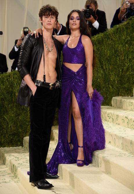 Shawn Mendes, Camila Cabello Met Gala 2021