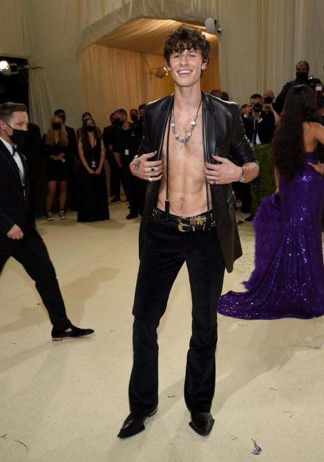 Shawn Mendes Met Gala 2021