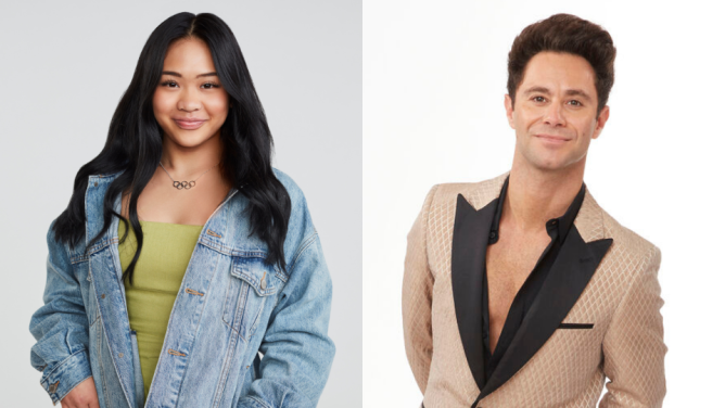 Sunisa Lee Sasha Farber Brian Austin Green & His Girlfriend Are Partners on the New DWTS Season—Here Are Other Pairs
