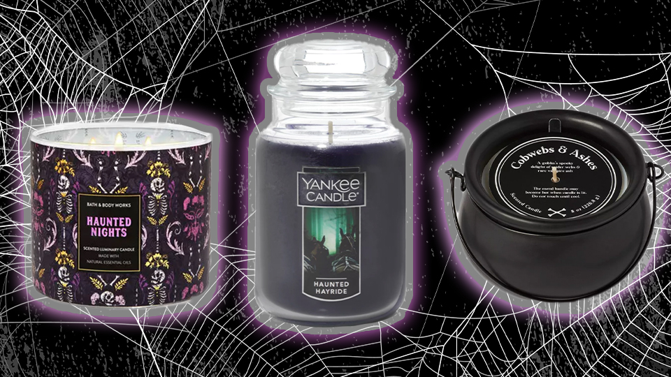10 Halloween Candles You Can Burn All The Way To October 31