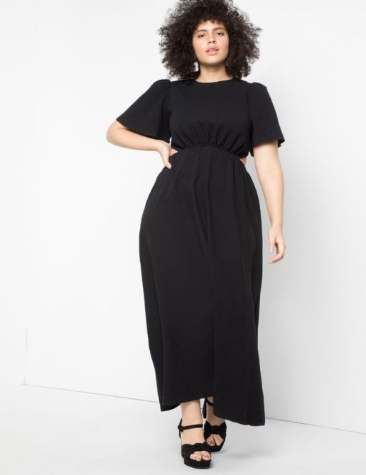 STYLECASTER   Cut Out Dress