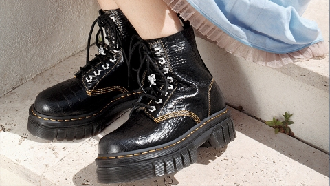 Gen Z Is Freaking Out Over These Dr Martens x Heaven By Marc Jacobs Boots | StyleCaster