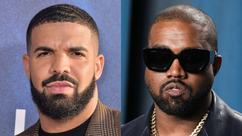 Drake Just Dissed Kanye For Being 'Jealous' & Leaking His Address Out of 'Desperation' | StyleCaster