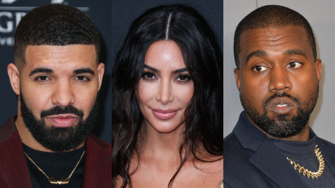 Drake Seemingly Shaded Kanye by Casting a Woman Who Looks Just Like Kim in His Music Video | StyleCaster
