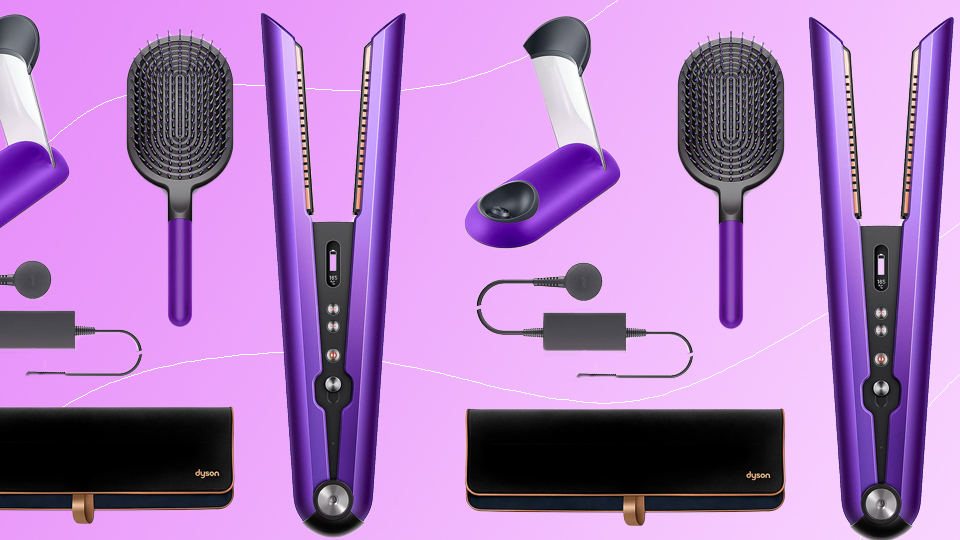 Dyson's Cult-Fave Cordless Straightener Is $90 Off — But For Today Only