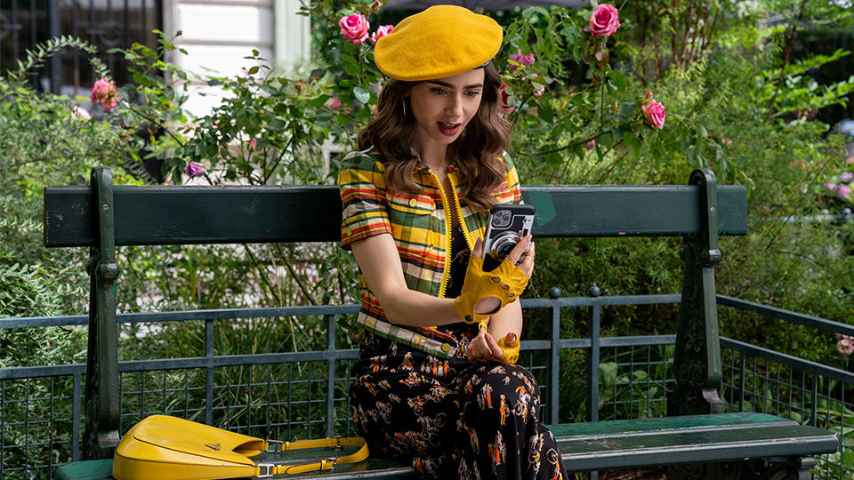 The One Styling Hack I'll Be Stealing From 'Emily In Paris' Season 2