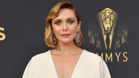 OMG, Mary-Kate & Ashley Designed Elizabeth Olsen's Emmys Dress | StyleCaster