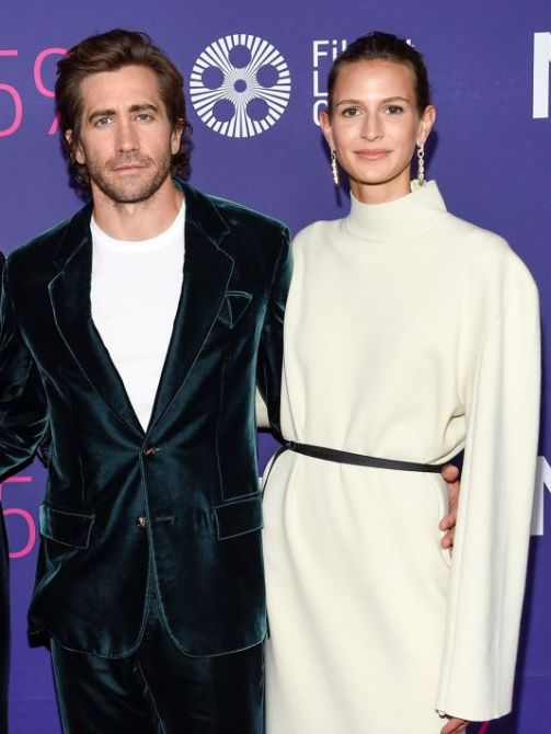 jake gyllenhaal jeanne cadieu Jake Gyllenhaal Has a Secret Girlfriend & They Just Went Red Carpet Official—See the Rare Photos