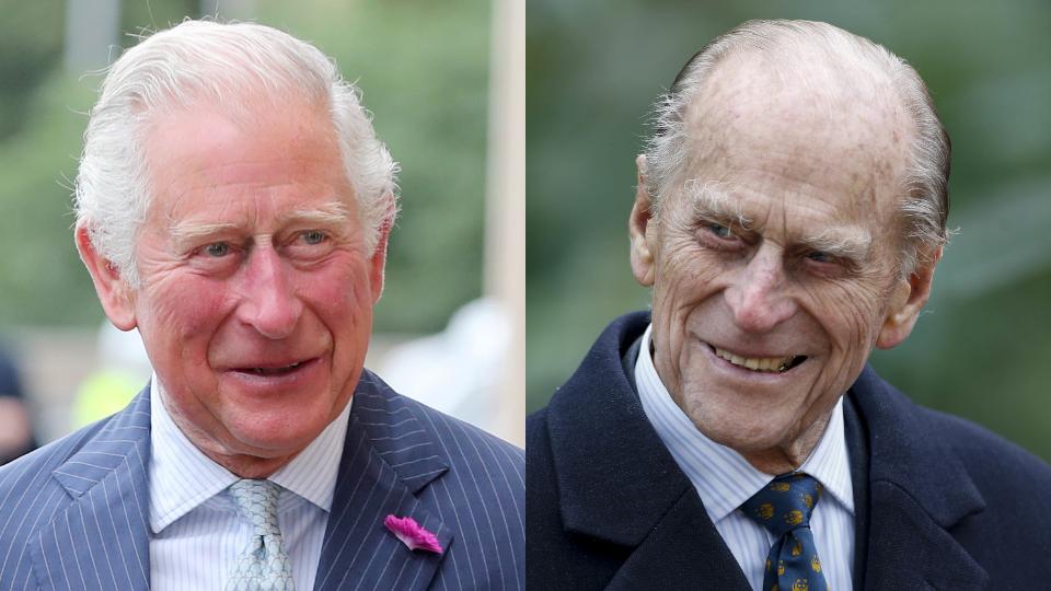 Prince Charles, Prince Philip