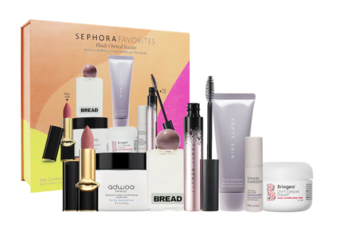 sephora favorites black owned beauty set The Holidays Came Early Thanks to Sephoras Epic Gift Sets