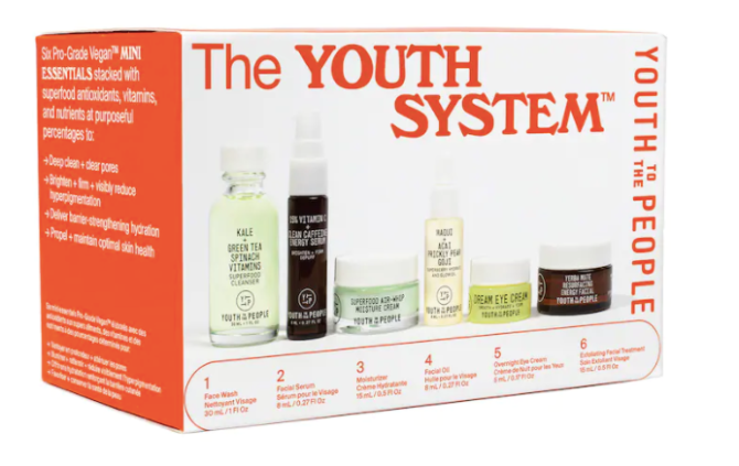 sephora youth to the people the youth system The holidays have come early thanks to the epic gift sets from Sephoras