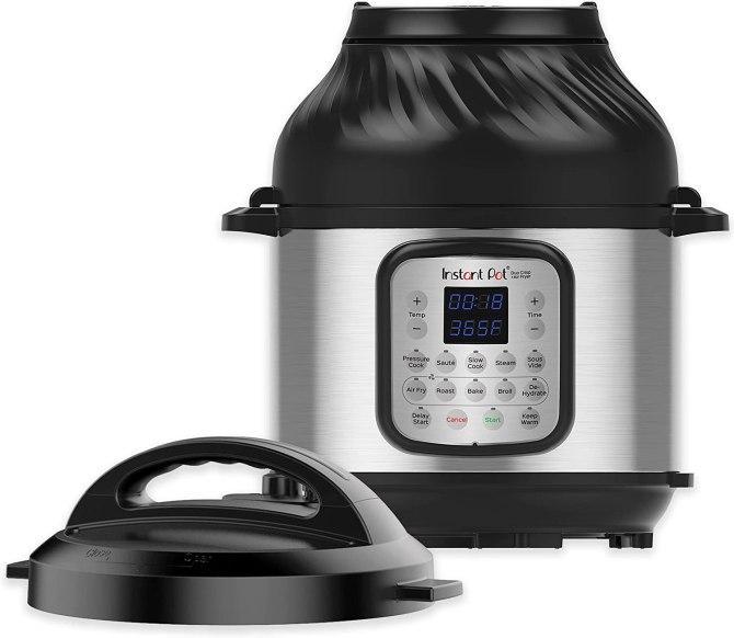 Instant Pot Duo Crisp 11-in-1 Electric Pressure Cooker