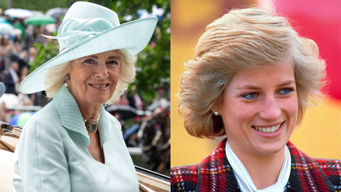 Camilla Pulled a 'Mean Girls' Move on Princess Diana Before Her Wedding to Prince Charles   StyleCaster