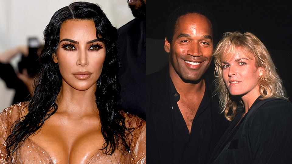 Kim Kardashian, OJ Simpson, Nicole Brown Simpson