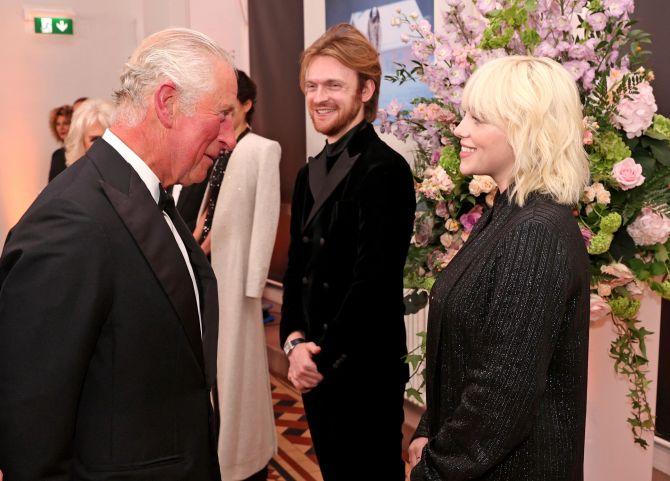Prince Charles, Billie Eilish