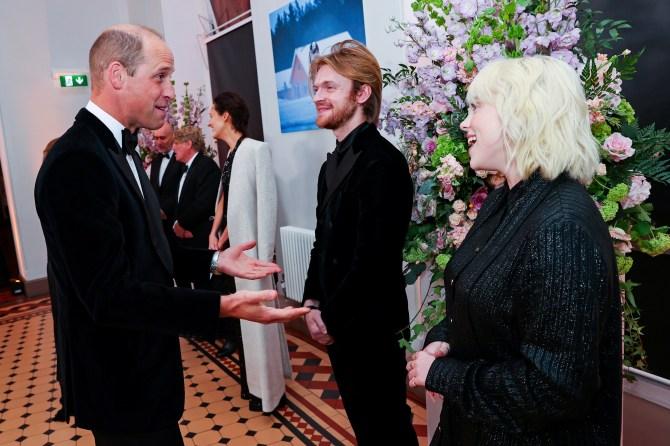 Prince William, Billie Eilish