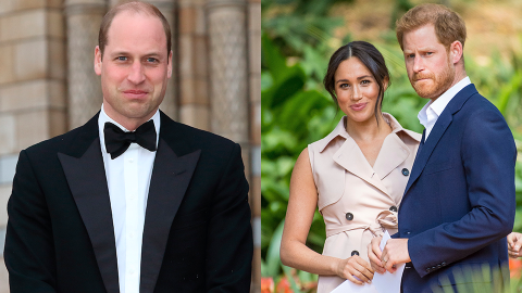 Harry & Meg Responded to Rumors William Won't Let Them Have Lili's Christening at Windsor | StyleCaster