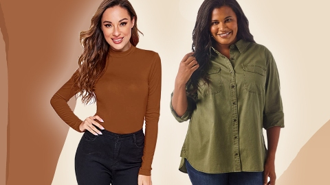 10 Perfect-For-Fall Shirts That Look More Expensive Than They Are   StyleCaster