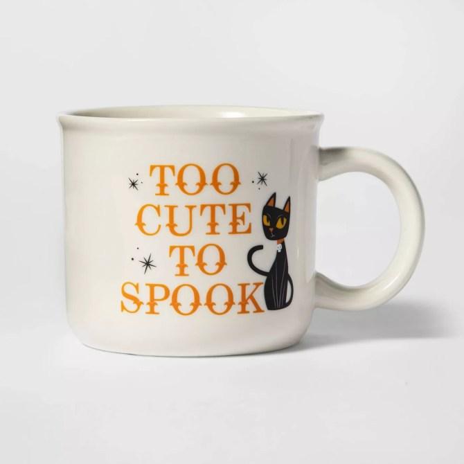 Black Cat Halloween Mug Target