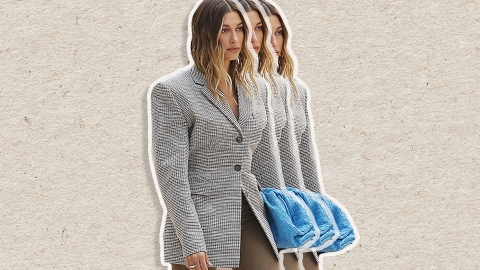 Blazer Trends To Help You Look More Like Hailey Bieber, Less Like An Accountant   StyleCaster