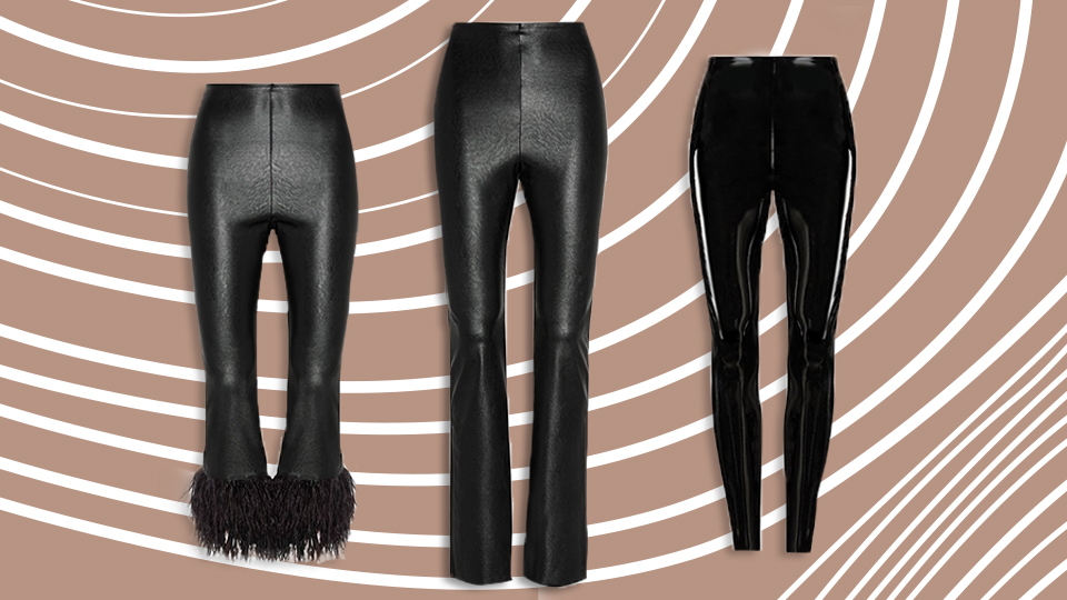 I Found The Most Flattering Faux Leather Pants On The Internet