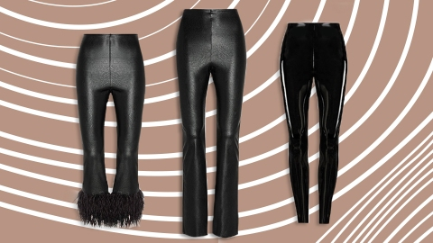 I Found The Most Flattering Faux Leather Pants On The Internet   StyleCaster