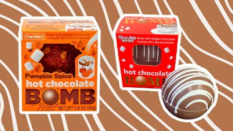 8 Hot Chocolate Bombs To Replace Starbucks This Fall | StyleCaster