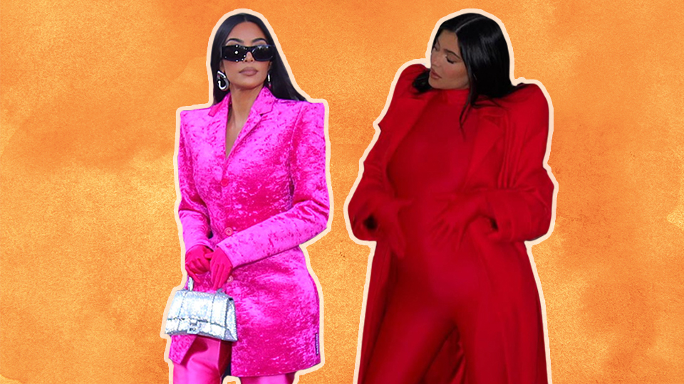 Uhh, Why Are Kim K & Kylie Jenner Dressing Like Superheros?