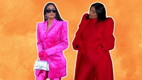 Uhh, Why Are Kim K & Kylie Jenner Dressing Like Superheros?   StyleCaster