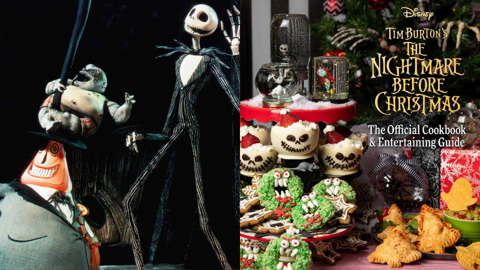 The Nightmare Before Christmas & Official Cookbook