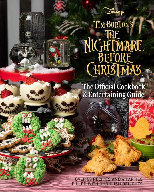 nightmare before christmas cookbook Theres a Nightmare Before Christmas Cookbook—& It Includes Jack & Sallys Best Recipes