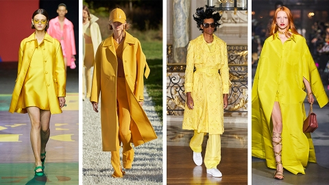 41 Paris Fashion Week Looks That Remind Me Of Literal Sunshine | StyleCaster