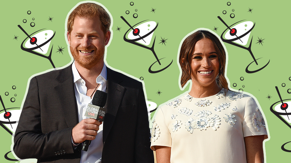 Apparently, This Bar Makes Harry & Meghan's Date Night Cocktail Of Choice | StyleCaster