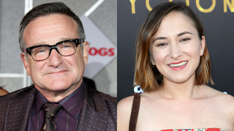 Robin Williams' Daughter Just Asked Fans to 'Please' Stop Sending Impersonations of Him | StyleCaster