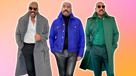 Is...Is Steve Harvey My New Style Icon?   StyleCaster