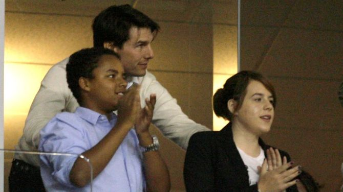 tom cruise connor cruise isabella cruise 1 Here's Whether Tom Cruise Sees His 3 Kids Amid Rumors Scientology Keeps Him Away From Suri