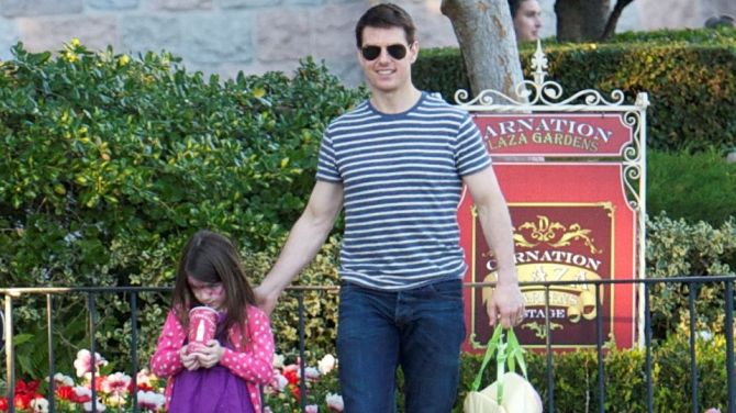 tom cruise suri cruise Here's Whether Tom Cruise Sees His 3 Kids Amid Rumors Scientology Keeps Him Away From Suri