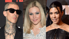 Travis Tattooed Kourtney's Lips Over His Ex-Wife's Name—& She Just Responded