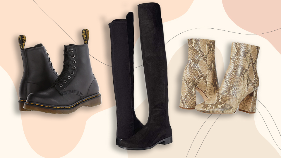 This Zappos Sale Has Me Snagging Doc Martens, Stuart Weitzman Boots & More