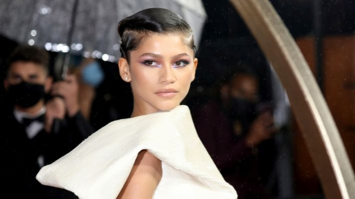 Zendaya Just Took the Reverse Eyeliner Trend to the Next Level on the Red Carpet